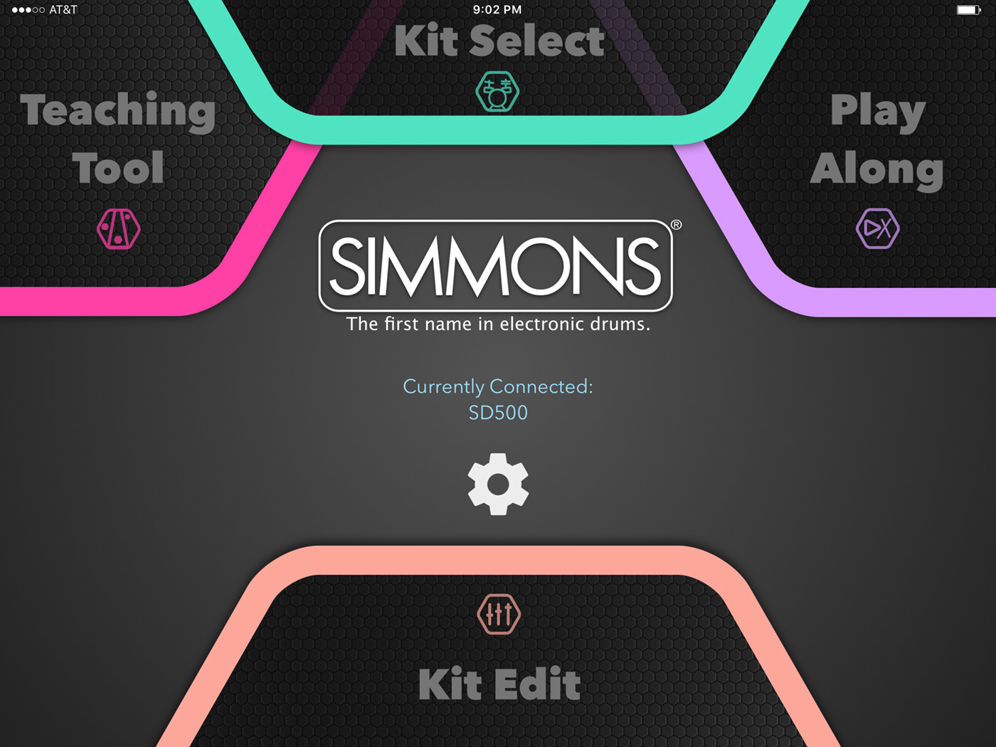 Simmons App Splash Mode