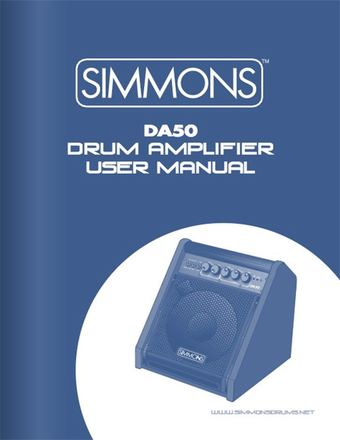 Simmons DA50 Manual
