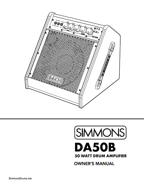 Simmons DA50B Manual
