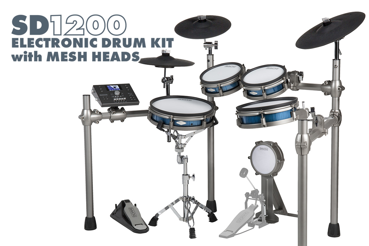 Simmons SD1200 Electronic Drum Kit