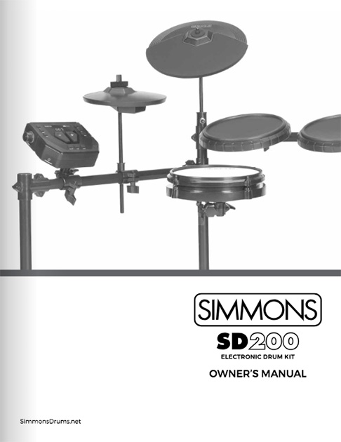Simmons SD200 Manual