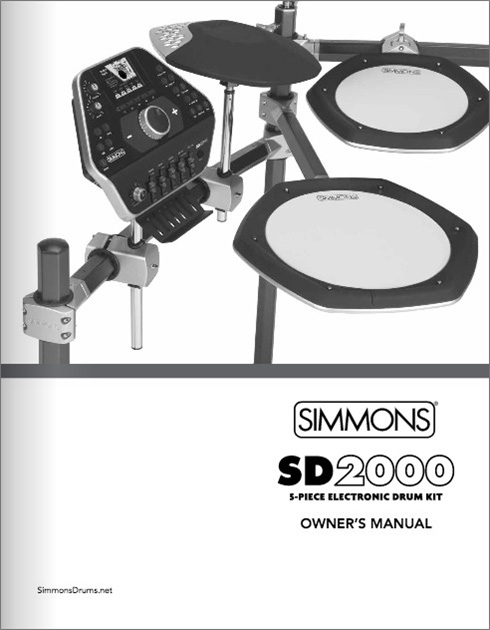 Simmons SD2000 Manual