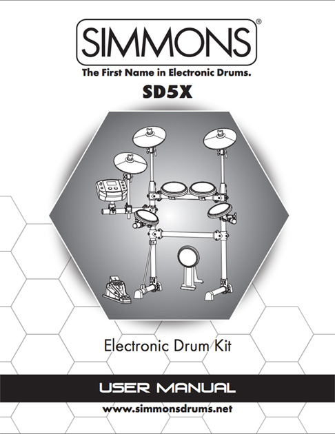 Simmons SD5X Manual