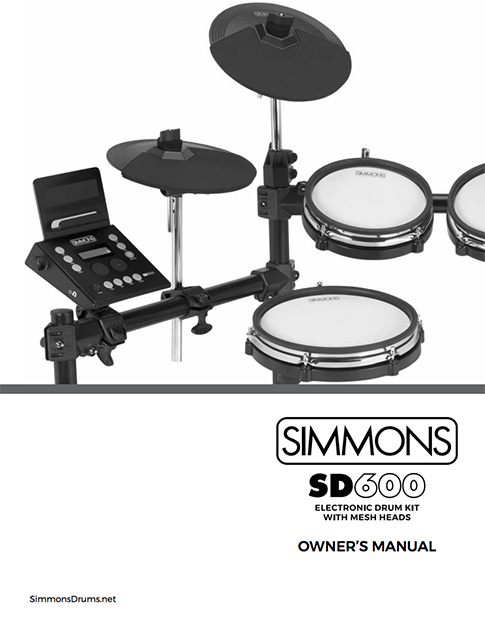 Simmons SD600 Manual