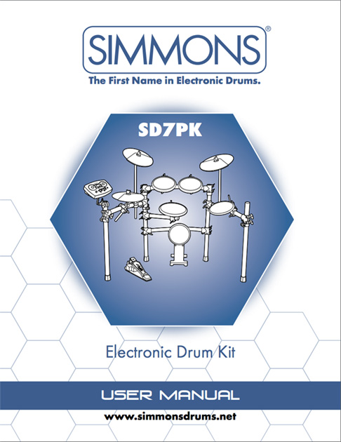 Simmons SD7PK Manual