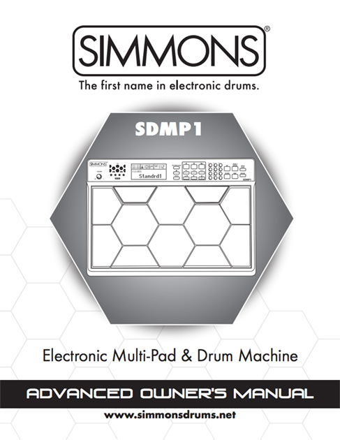 Simmons SDMP1 Manual