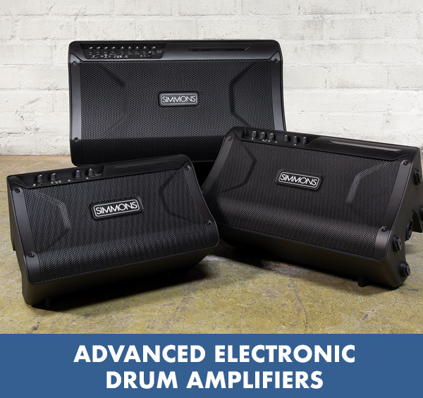 Simmons Advanced Electronic Drum Amps