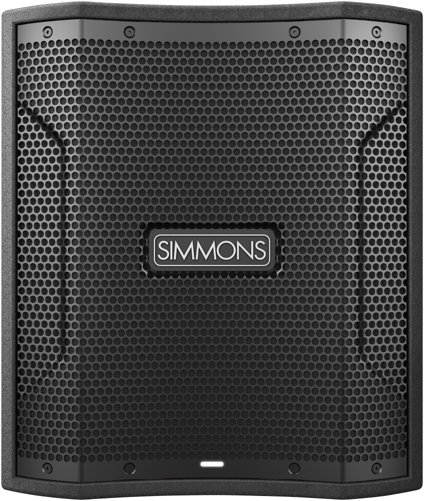 Simmons DA12S Compact Subwoofer